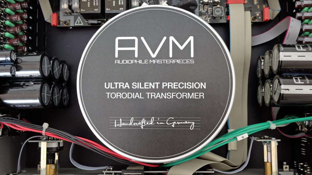 AVM Ovation A 6.2 Master Edition - Ringkerntrafo