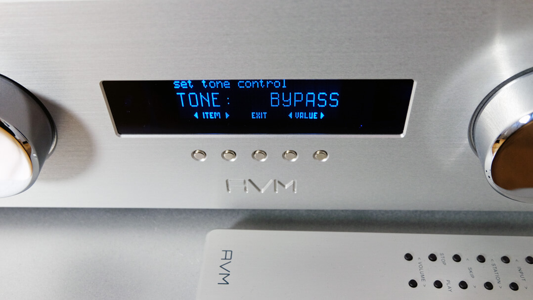 AVM Ovation A 6.2 Master Edition - Tone Bypass