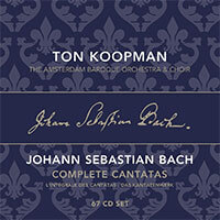Bachwerkeverzeichnis BWV 22. The Amsterdam Baroque Orchestra and Choir, Dirigent: Ton Koopman