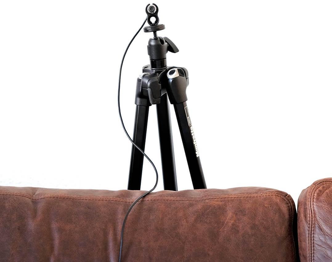 Ich überlasse meinen Hörplatz dem Messmikrofon...