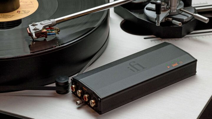 iFi Audio iPhono3 Black Label Phono-Vorverstärker