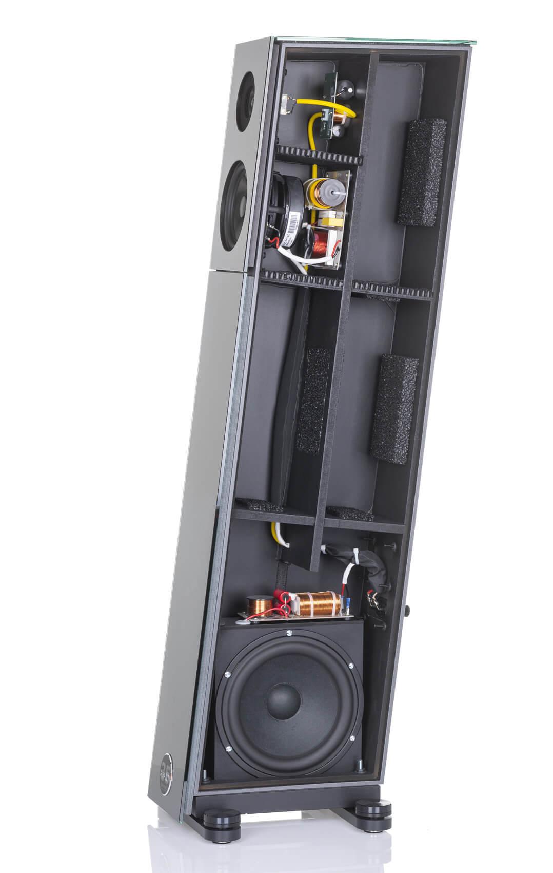 Audio Physic Avanti 35 Standlautsprecher - Treiberterchnik