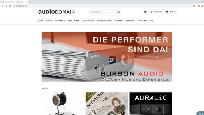 Audiodomain