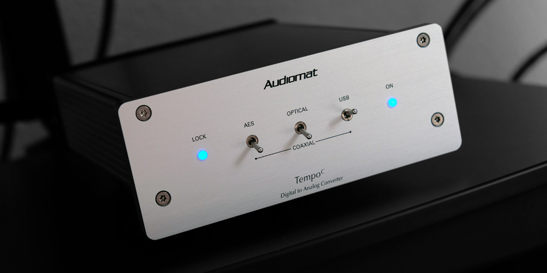 Audiomat Tempo C Betriebsanzeige LED
