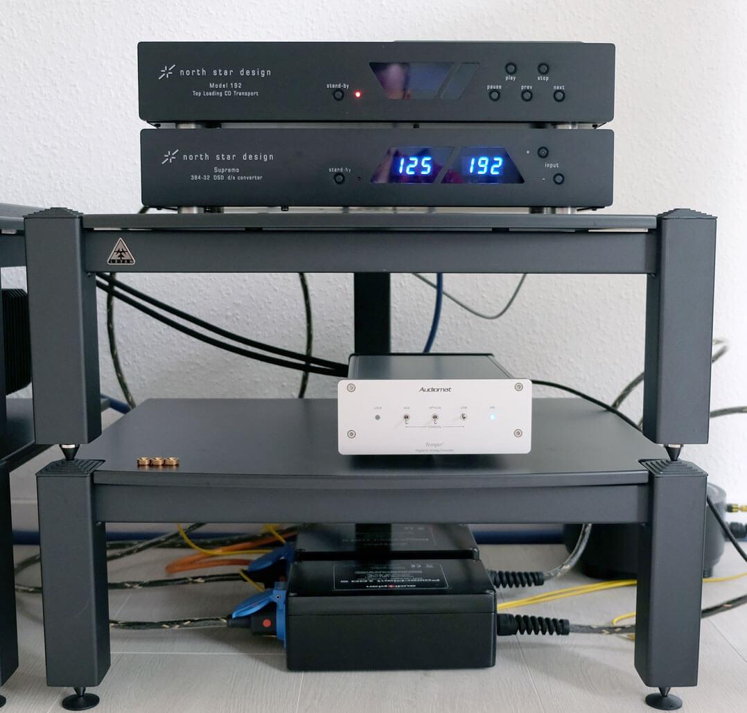 Audiomat Tempo C im Rack