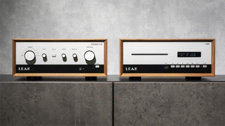 Leak Stereo 130 Vollverstärker und CDT CD-Transport
