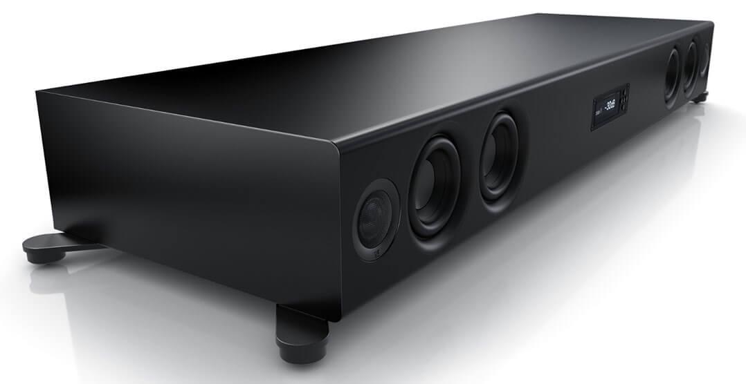 Der Soundbar Nubert nuPro XS-7500 ist nicht eben klein...