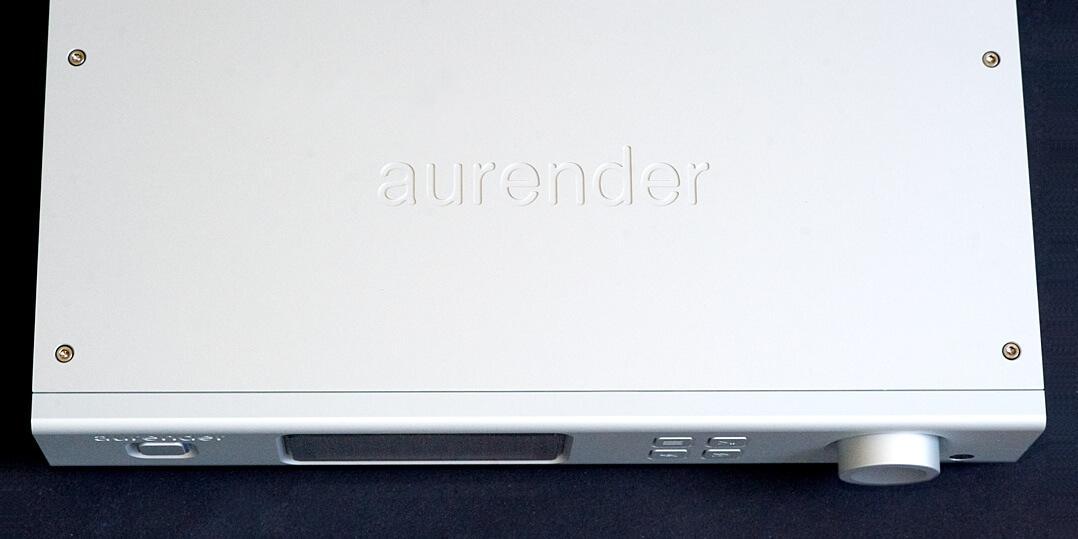 Aurender A100, oben