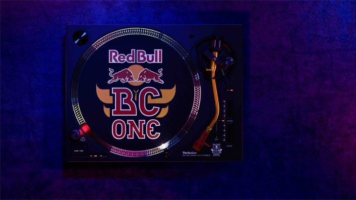 Technics Red Bull BC One SL-1210MK7R Schallplattenspieler