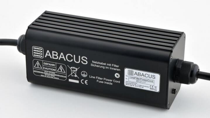 Abacus Electronics Netzkabel mit Filter