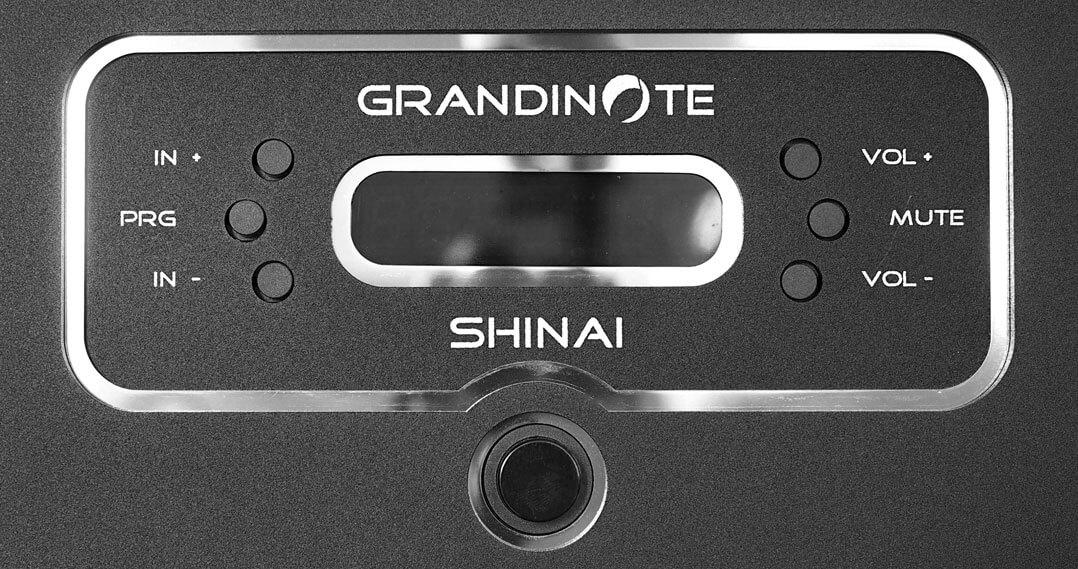Grandinote Shinai - Display deaktiviert