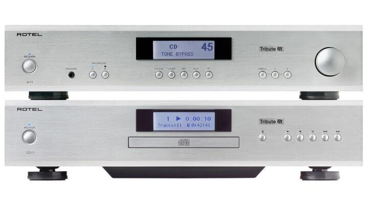 Rotel A11 Tribute und Rotel CD11 Tribute - Verstärker und CD-Player