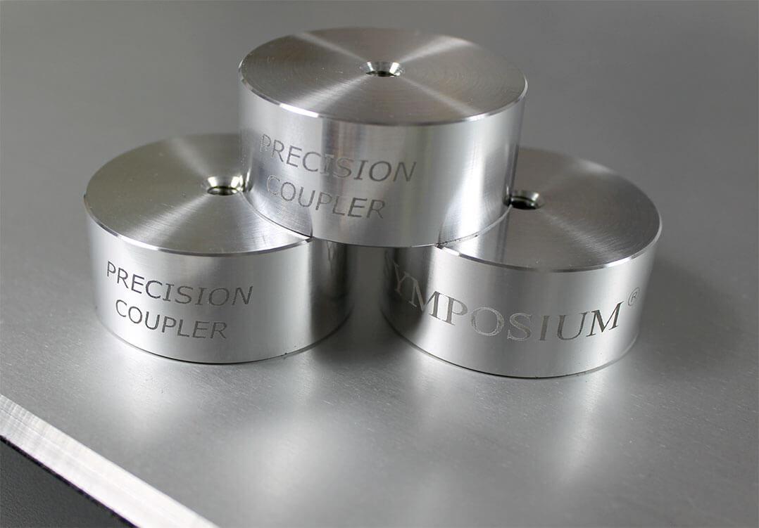 Ein Set Precision Coupler gehört immer zum Lieferumfang einer Basis