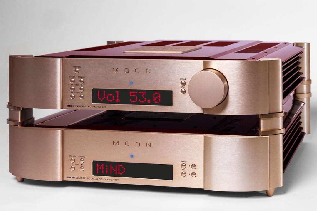 Moon 40th Anniversary Edition 680D Streaming-DAC und 600i V2 Vollverstärker