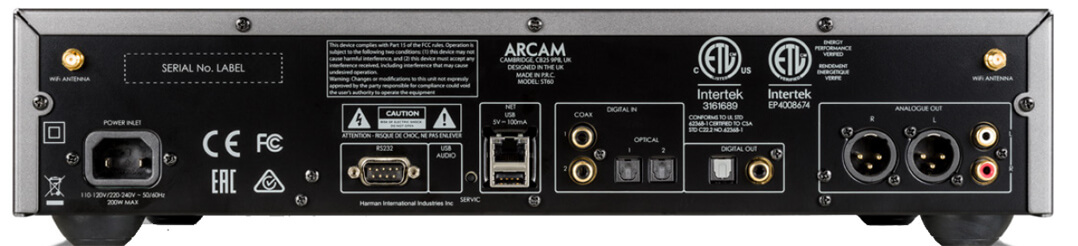 Arcam ST60 Streamer/Netzwerkspieler
