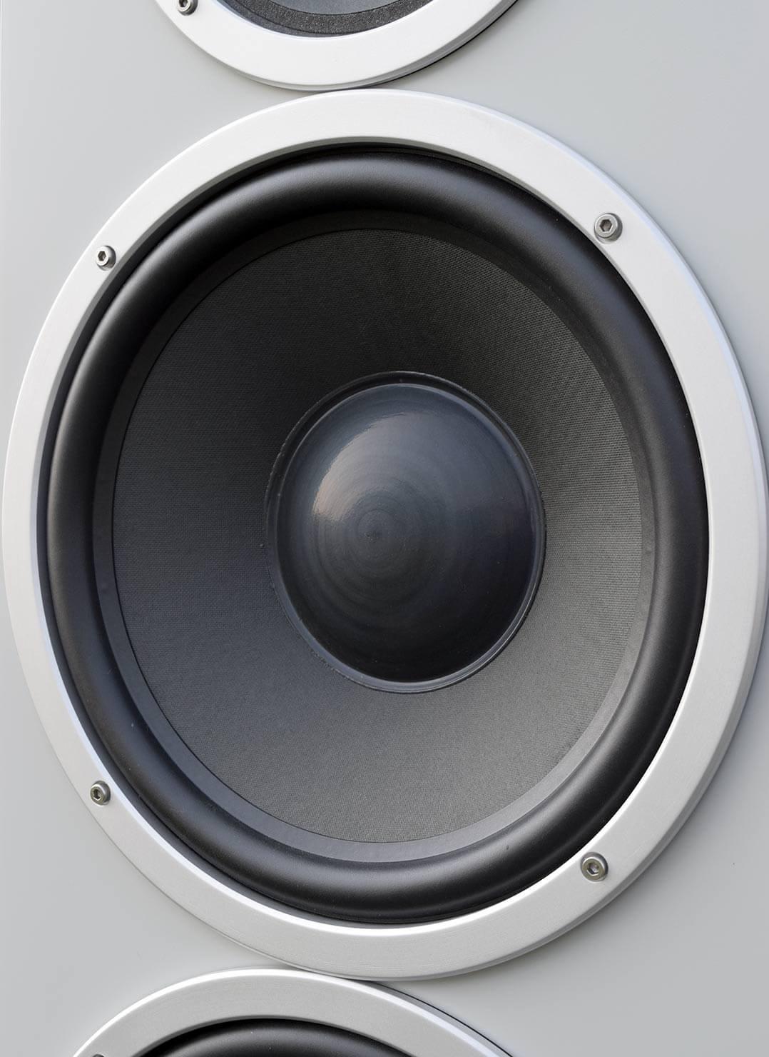 Die Orbid Sound Jupiter ist mit zwei 10-Zoll-Woofern bestückt