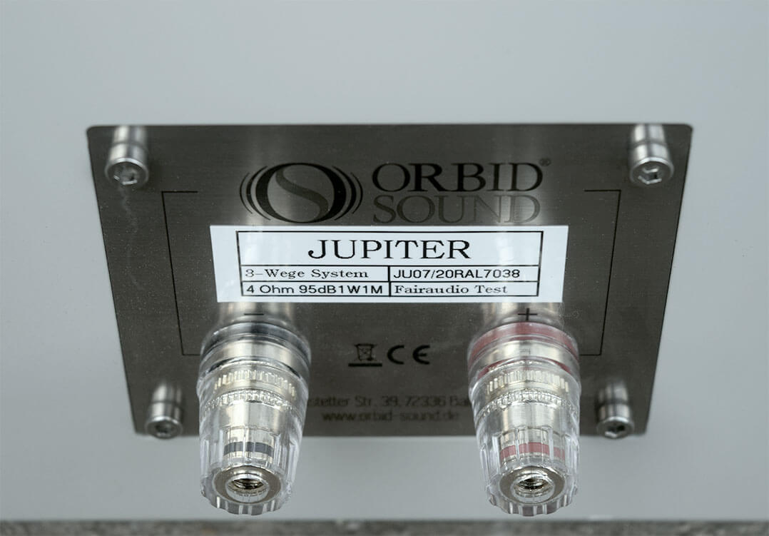 Lautsprecherterminal der Orbid Sound Jupiter