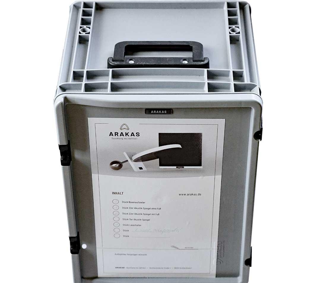 Das Arakas-Testpaket lässt sich für eine Woche ordern