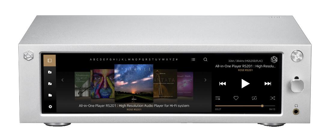 HiFi Rose Streamingverstärker Display