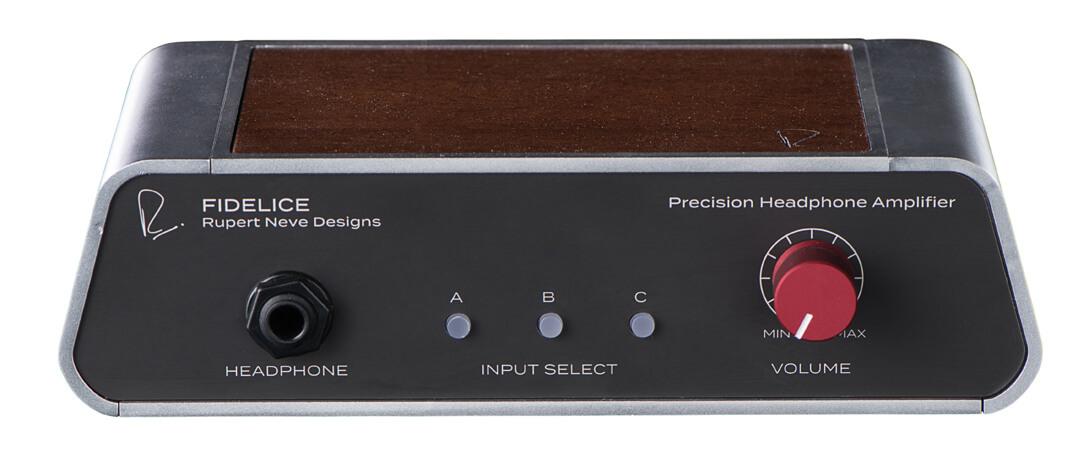 Klein, aber fein: Der Kopfhörerverstärker Rupert Neve Designs Precision Headphone Amplifier