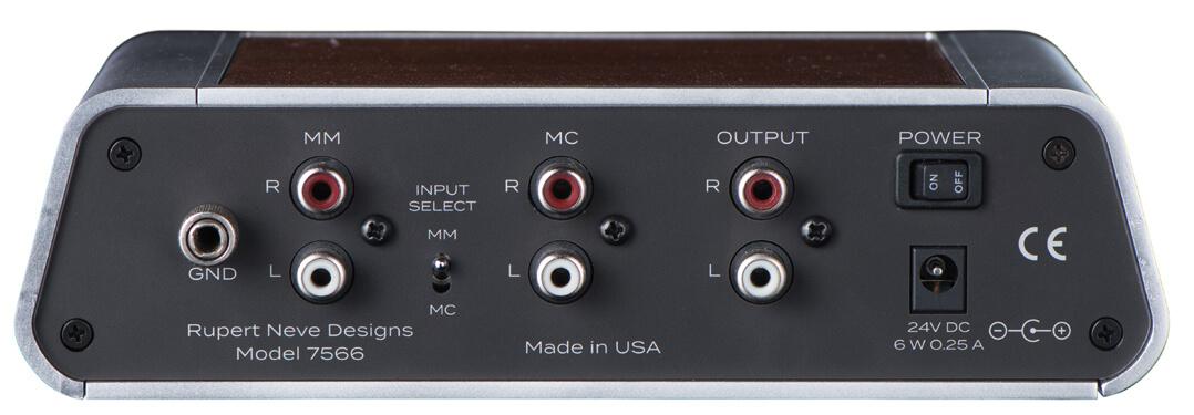 Da freut sich der Vinyl-Fan: Auch eine Phonovorstufe ist im Programm - die Rupert Neve Designs Precision Phono Pre-Amplifier