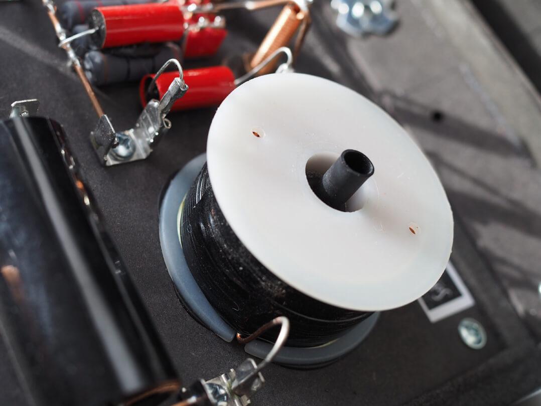 Sehring M801 - Klangeinstellung mit Spulenkern