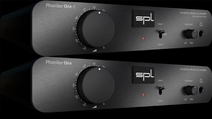 SPL Phonitor One und Phonitor One d Kopfhörerverstärker/DAC