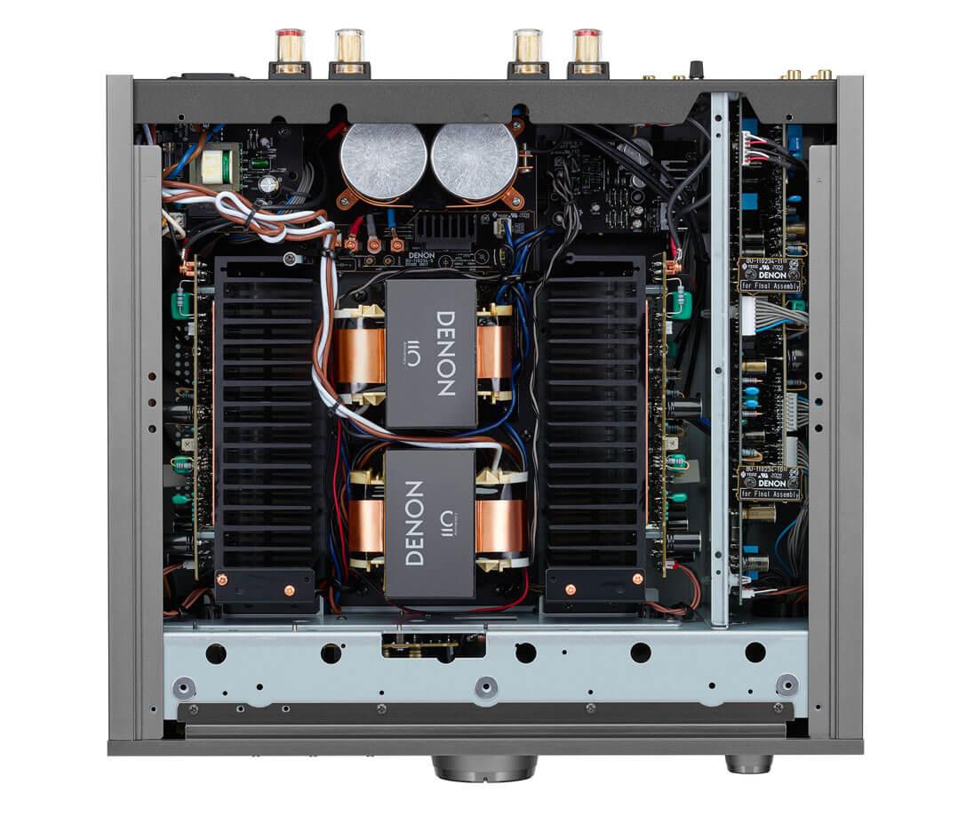 Denon PMA-A110 Innenaufnahme: Technik