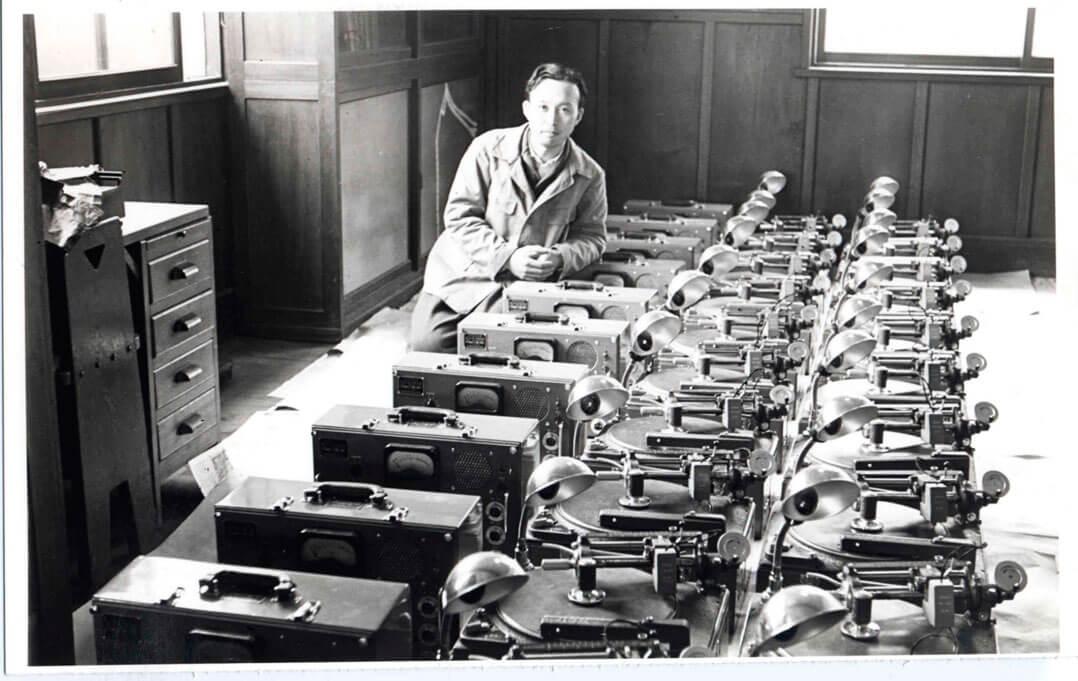 Denon Entwickler in den 1930er-Jahren
