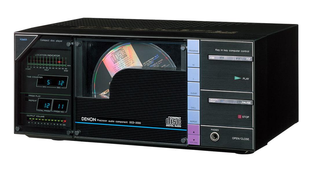 Der erste Consumer-CD-Player von Denon: DCD-2000