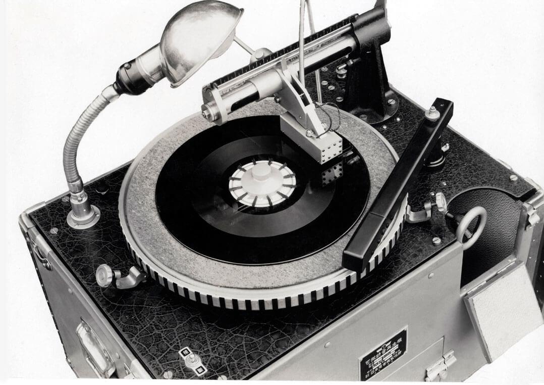 """Das """"Schallplatten-Aufnahmegerät"""" DP-17K"""