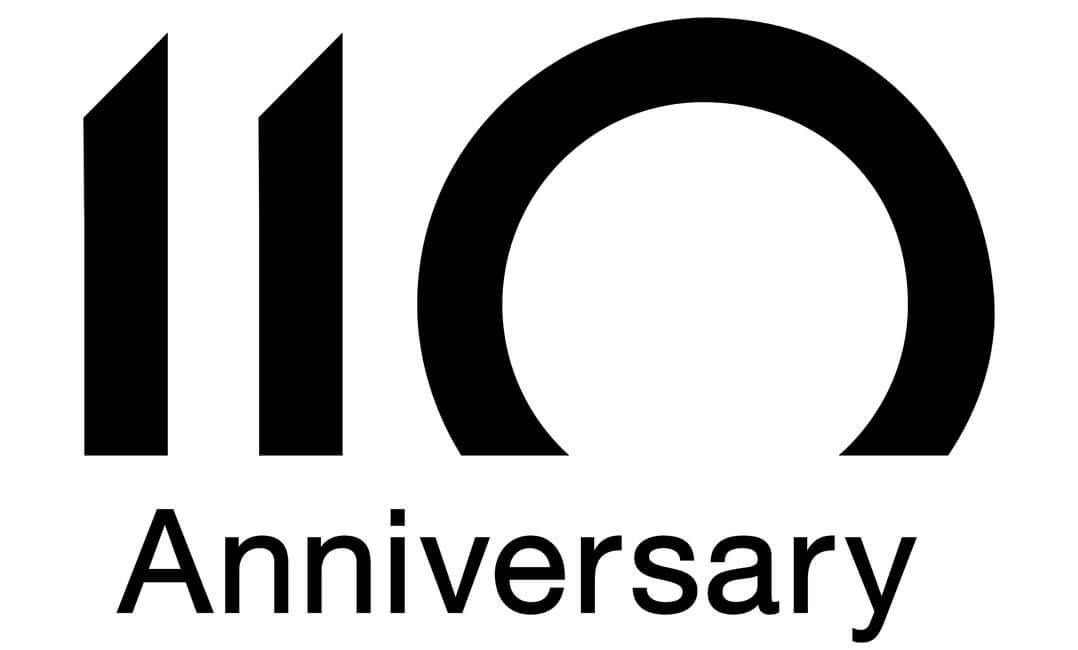 110 Jahre Denon-Jubiläum - Logo