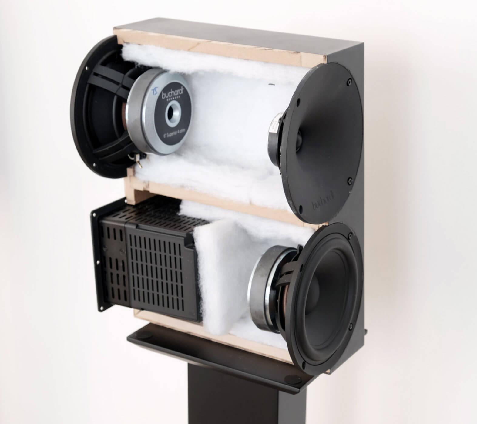Buchardt A500 - Blick ins Innere