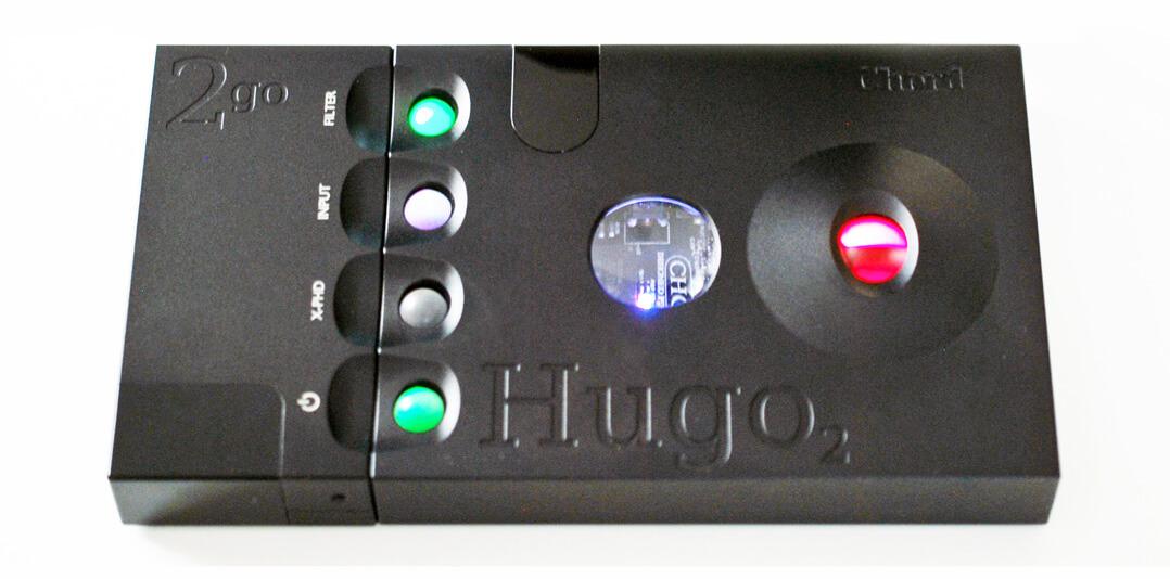 Chord Hugo 2 und 2go - Farb-LEDs