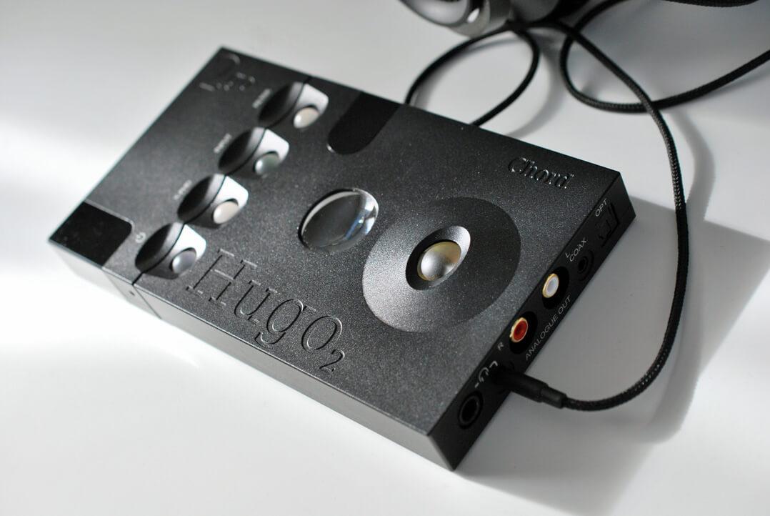 Chord Hugo 2 und 2go verkabelt
