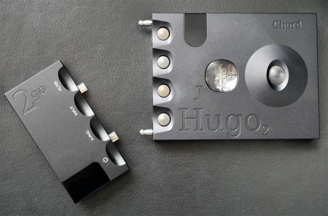 Chord Hugo 2 und 2go - einzelne Geräte