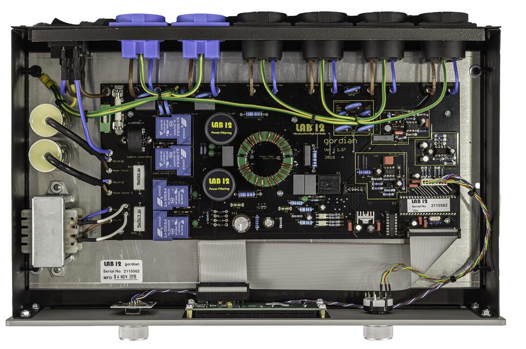 Lab 12 Gordian Stromfilter: das Innenleben