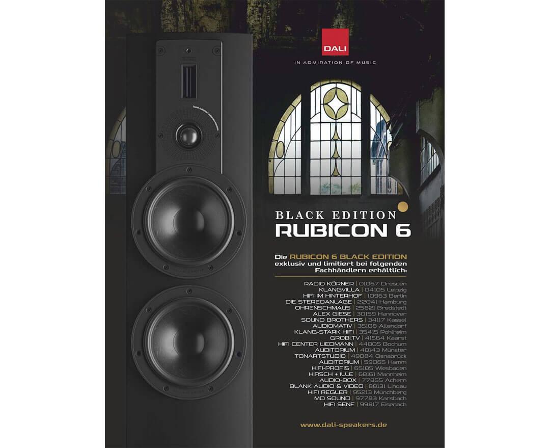 Rubicon 6 Black Edition: Fachhändler in Deutschland