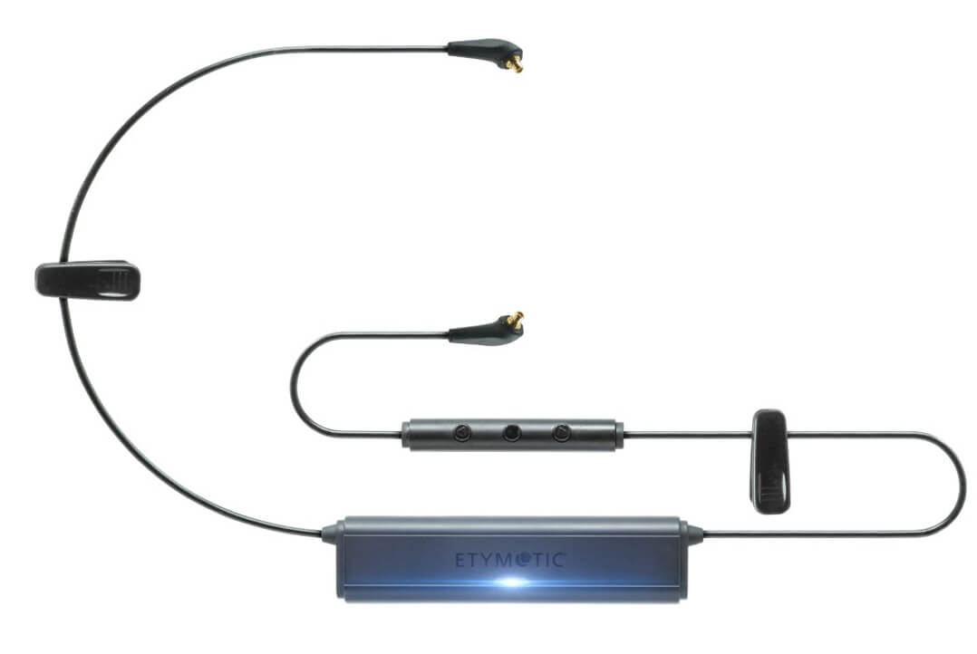 Das Etymotion Wireless Kabel im Detail