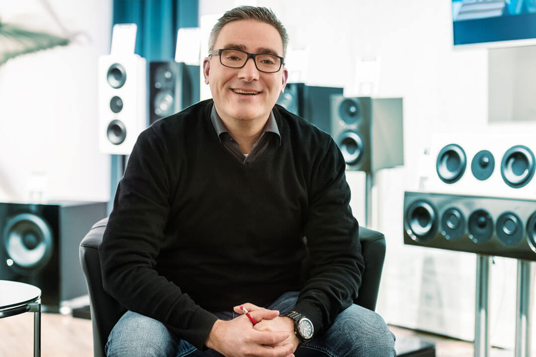 Verkaufsleiter Martin Bühler