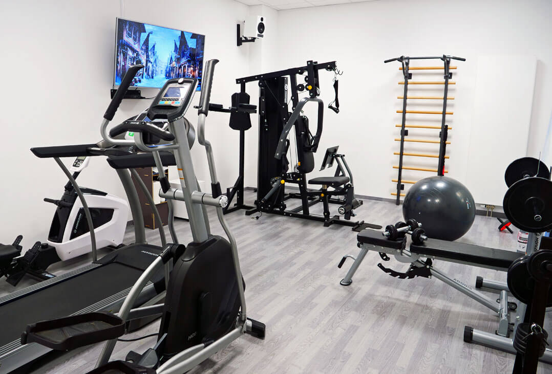 Nubert Fitnessraum