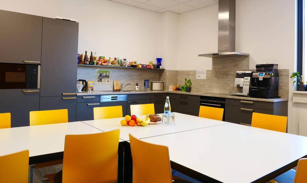Mitarbeiter-Küche bei Nubert