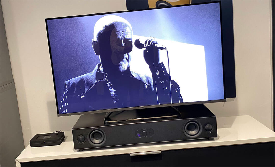 Nubert nuPro AS-3500mit Fernseher