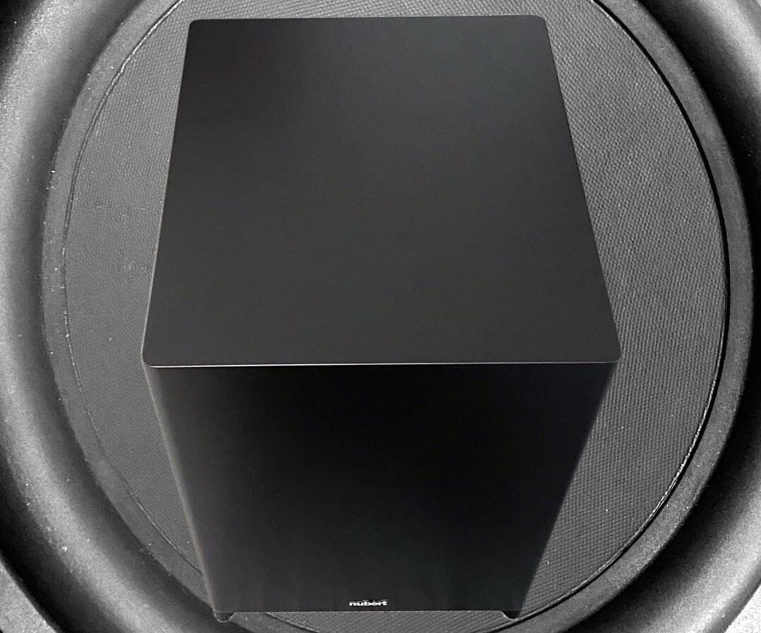 Nubert nuSub XW-1200 in Schwarz