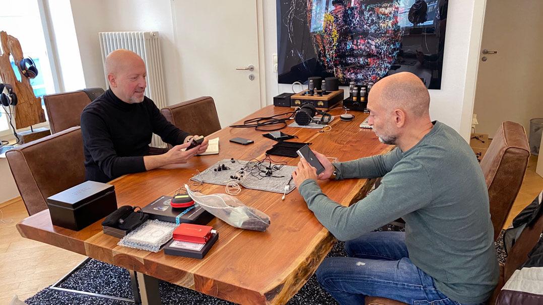Stefan Schickedanz und Wolfgang Hackhausen