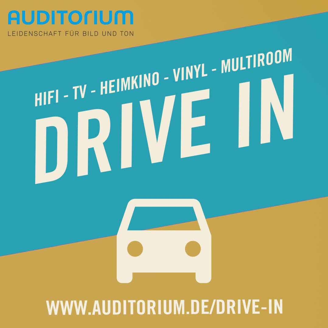 Auditorum macht's möglich: Shoppen per Drive-In direkt vom Auto aus