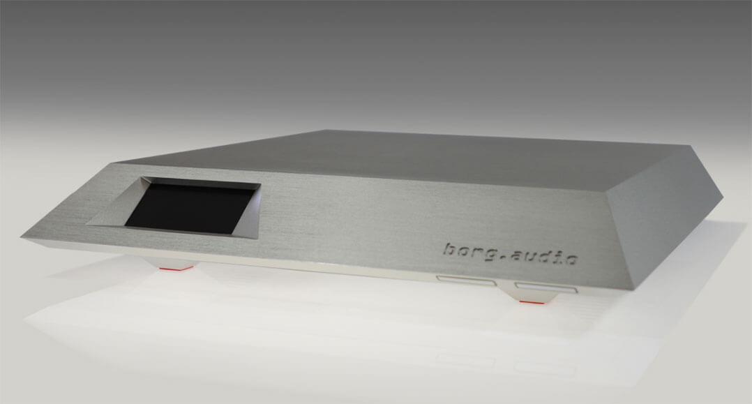 Der borg.audio dune kommt ohne Trackball auf der Front, ist aber ansonsten baugleich zum warp