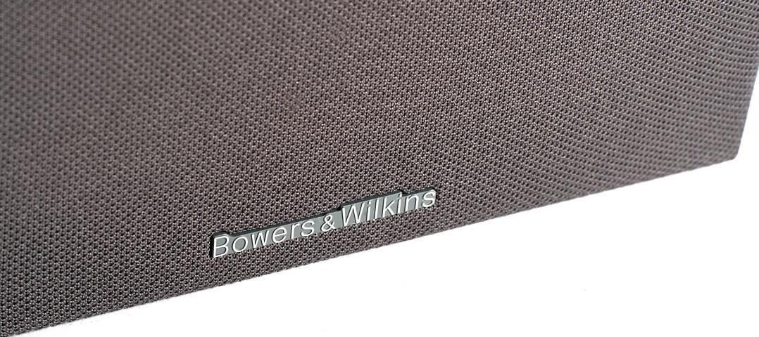 B&W 606 S2 Anniversary Edition - Schriftzug auf Lautsprecherabdeckung