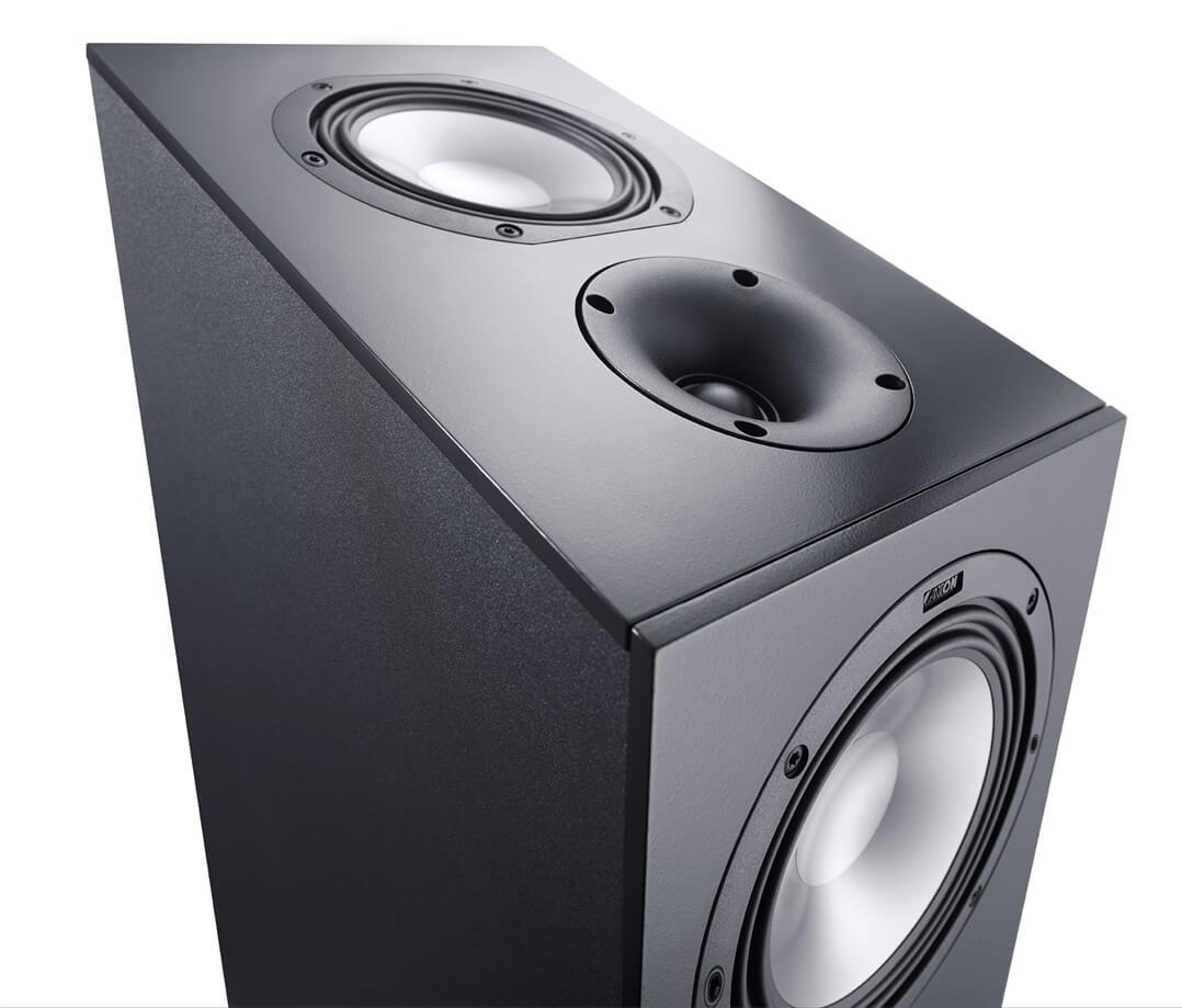 """Canton GLE 496.2 AR Standlautsprecher: Die raffinierte Konstruktion beinhaltet ein vollständiges separates Dolby-Atmos-Set """"on top"""""""