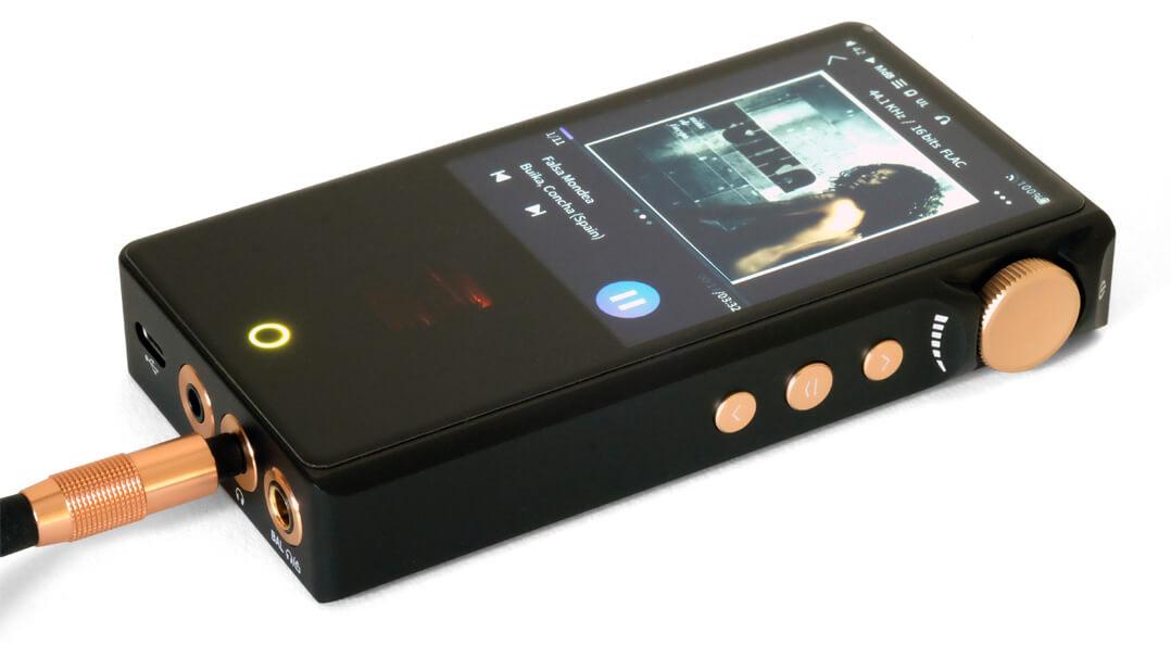 Cayin N3 Pro im Playmodus
